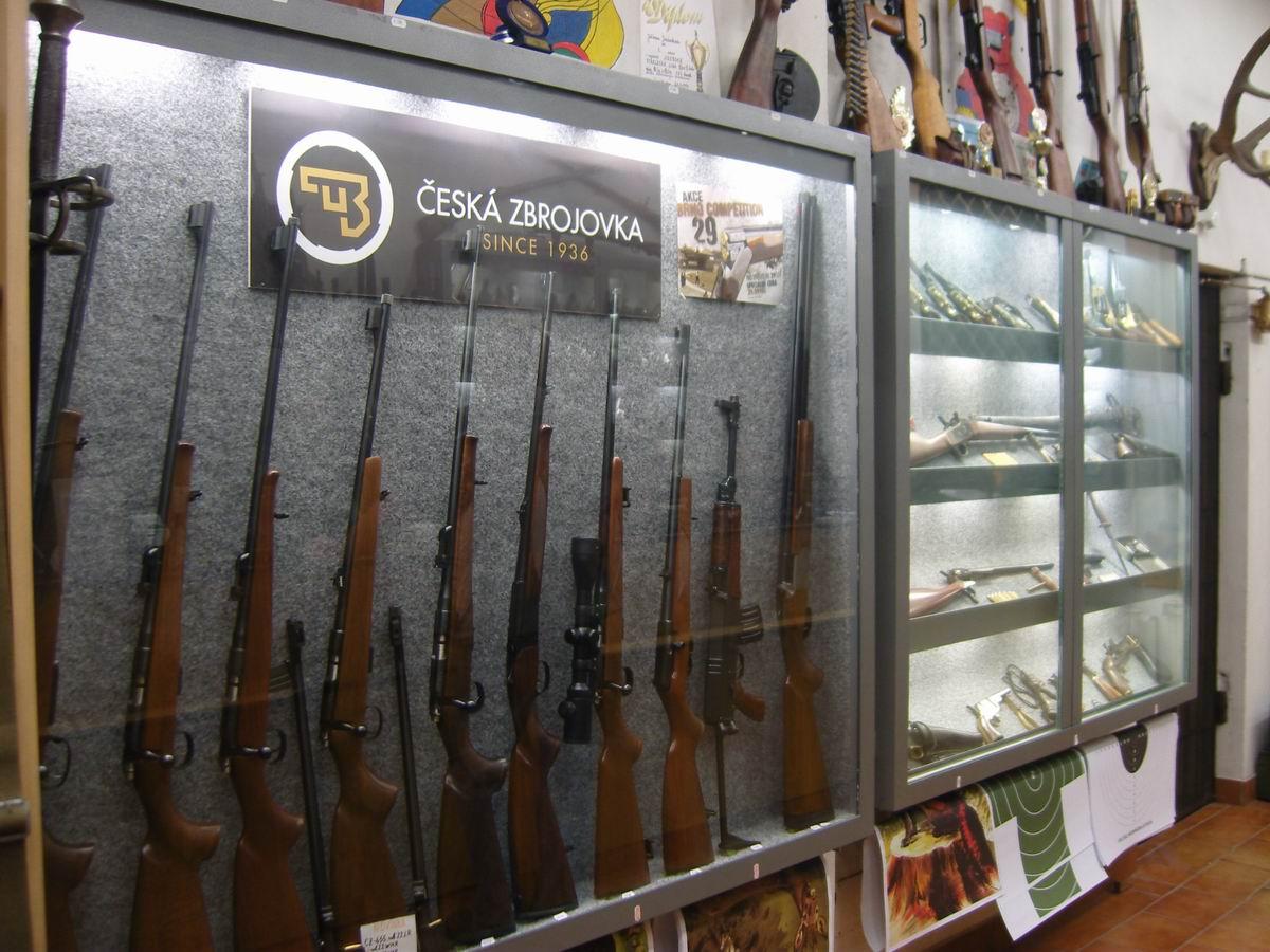 2303e9fa4 Zbraně a střelivo Jiří Jiránek - SECURITY ARMS - prodejna zbraní
